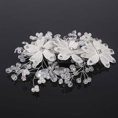 """Combs & Barrettes Wedding Crystal/Alloy/Imitation Pearls 6.69""""(Approx.17cm) 4.33""""(Approx.11cm) Headpieces"""