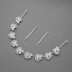"""Headbands Wedding/Special Occasion/Party Rhinestone/Alloy 11.42""""(Approx.29cm) 0.71""""(Approx.1.8cm) Headpieces"""