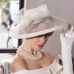 Cambric Bowler/Cloche Hat Glamourous Ladies' Hats