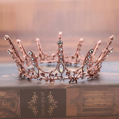 "Tiaras Wedding/Party Rhinestone/Alloy 5.71""(Approx.14.5cm) 2.36""(Approx.6cm) Headpieces"