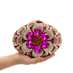 """Clutches/Luxury Clutches Wedding/Ceremony & Party Crystal/ Rhinestone Gorgeous 7.48""""(Approx.19cm) Clutches & Evening Bags"""