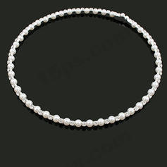 "Necklaces Pearl Rhinestone Nice 9.86""-13.8""(Approx.25cm-35cm) Wedding & Party Jewelry"
