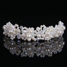"""Headbands Wedding/Special Occasion Alloy/Imitation Pearls 8.27""""(Approx.21cm) 1.57""""(Approx.4cm) Headpieces"""