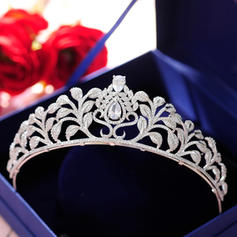"""Tiaras Wedding/Special Occasion/Party Alloy 1.77""""(Approx.4.5cm) 5.51""""(Approx.14cm) Headpieces"""