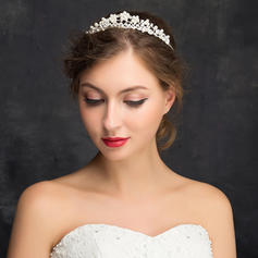 """Tiaras Wedding/Special Occasion/Party Rhinestone/Alloy 5.91""""(Approx.15cm) 1.14""""(Approx.2.9cm) Headpieces"""