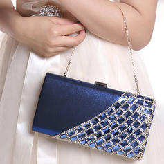 Clutches Ceremony & Party PVC Snap Closure Elegant Clutches & Evening Bags