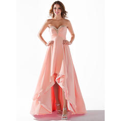 ball gown prom dresses strapless