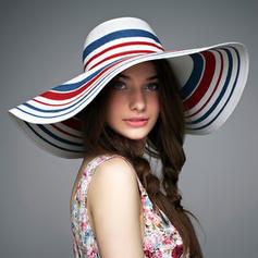 Rattan Straw Floppy Hat/Straw Hat Colorful Ladies' Hats