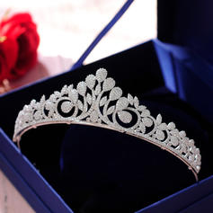"""Tiaras Wedding/Special Occasion/Casual/Outdoor/Party/Carnival/Art photography Zircon 5.51""""(Approx.14cm) Beautiful Headpieces"""