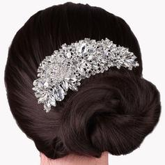 """Combs & Barrettes Wedding/Special Occasion Rhinestone/Alloy 4.92""""(Approx.12.5cm) 2.56""""(Approx.6.5cm) Headpieces"""