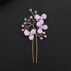 Hairpins/Scarf Wedding Alloy Elegant (Sold in single piece) Headpieces