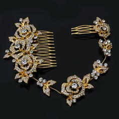 "Wedding/Special Occasion/Party Rhinestone/Alloy 11.02""(Approx.28cm) 2.36""(Approx.6cm) Glamourous Headpieces"