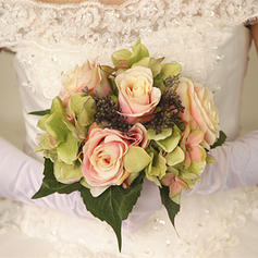"""Bridal Bouquets Round Wedding/Party Dried Flower 9.84""""(Approx.25cm) Wedding Flowers"""