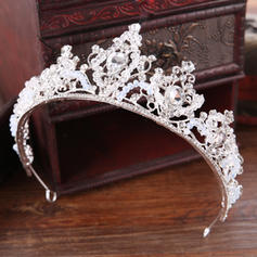 """Tiaras Wedding/Special Occasion/Party/Art photography Rhinestone/Alloy 14.17""""(Approx.36cm) 2.76""""(Approx.7cm) Headpieces"""