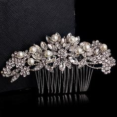 """Combs & Barrettes Wedding Alloy/Silver Plated 4.72""""(Approx.12cm) 2.17""""(Approx.5.5cm) Headpieces"""