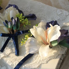"""Wrist Corsage/Boutonniere Wedding Ribbon 4.72""""(Approx.12cm) Color & Style representation may vary by monitor/Not responsible for typographical or pictorial errors. Wedding Flowers"""