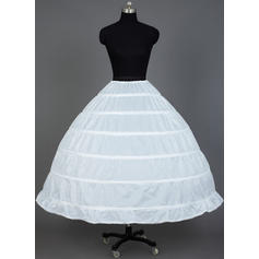 Petticoats Tea-length Nylon Ball Gown Slip/Full Gown Slip 1 Tiers Petticoats