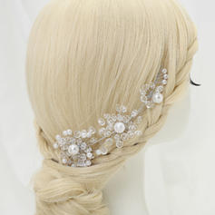 "Headbands Party Crystal/Alloy/Imitation Pearls 6.89""(Approx.17.5cm) 1.97""(Approx.5cm) Headpieces"