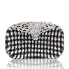 """Clutches Ceremony & Party Crystal/ Rhinestone Fashional 7.09""""(Approx.18cm) Clutches & Evening Bags"""