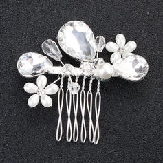 Combs & Barrettes Wedding/Party Rhinestone Glamourous Ladies Headpieces
