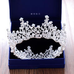 """Tiaras Wedding/Special Occasion/Party Rhinestone/Alloy 2.76""""(Approx.7cm) 5.51""""(Approx.14cm) Headpieces"""