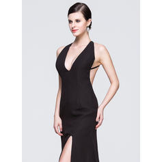 women's 3/4 sleeve evening dresses