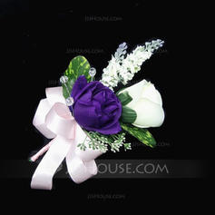 """Boutonniere Free-Form Wedding/Party Satin/Cotton 5.91""""(Approx.15cm) Wedding Flowers"""