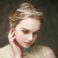 """Tiaras Wedding/Special Occasion/Casual Crystal/Alloy 7.87""""(Approx.20cm) 0.63""""(Approx.1.6cm) Headpieces"""