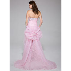 white and gold prom dresses 2020