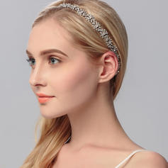 """Headbands Wedding/Special Occasion/Party Rhinestone 9.84""""(Approx.25cm) 0.59""""(Approx.1.5cm) Headpieces"""