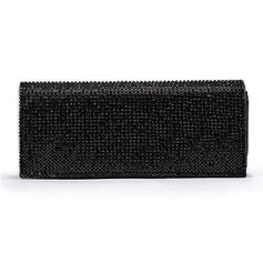 Clutches Wedding/Ceremony & Party/Office & Career Patent Leather Snap Closure Charming Clutches & Evening Bags