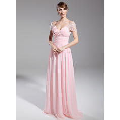 classy evening dresses in red or emerald