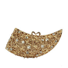 Clutches/Luxury Clutches Wedding/Ceremony & Party Crystal/ Rhinestone/Alloy Gorgeous Clutches & Evening Bags