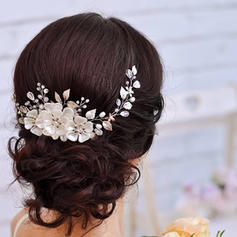 "Headbands Wedding/Special Occasion Rhinestone/Alloy/Imitation Pearls 14.57 ""(Approx.37cm) 2.76""(Approx.7cm) Headpieces"