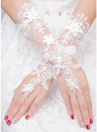 Tulle Ladies' Gloves Bridal Gloves Fingerless 30cm(Approx.11.81inch) Gloves