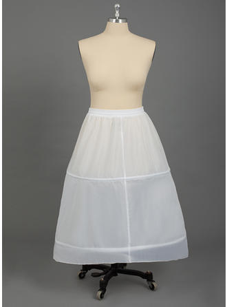 PLUS SIZE Petticoats Nylon A-Line Slip/Ball Gown Slip/Full Gown Slip 1 Tiers Wedding/Special Occasion Petticoats