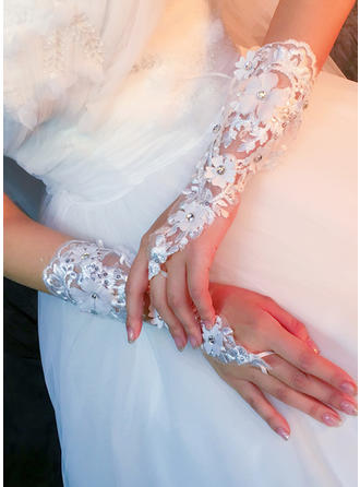 Lace Ladies' Gloves Bridal Gloves Fingerless 25cm(Approx.9.84inch) Gloves